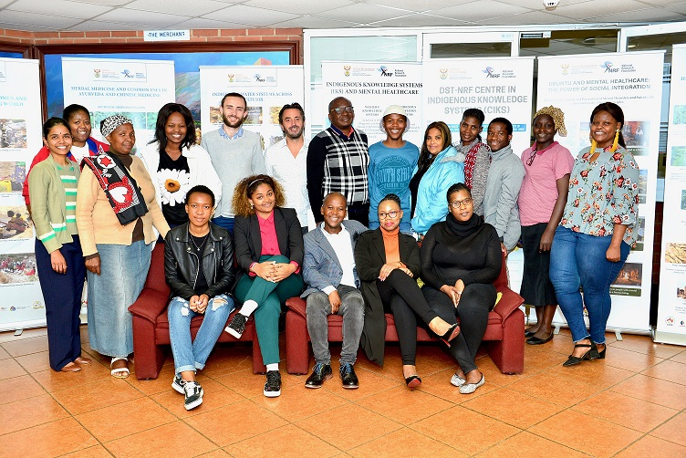 DSI-NRF Centre in Indigenous Knowledge Systems Promotes Ubuntu for Mental Healthcare