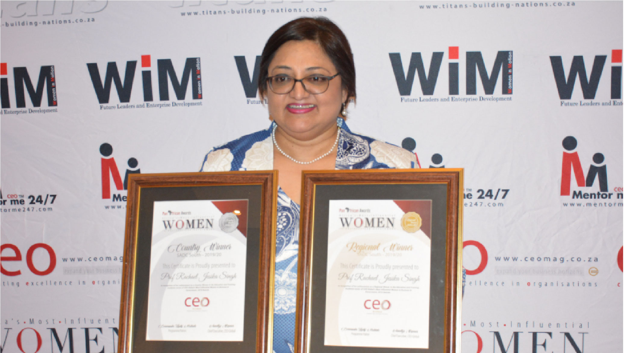 DVC Named Africa's Most Influential Woman